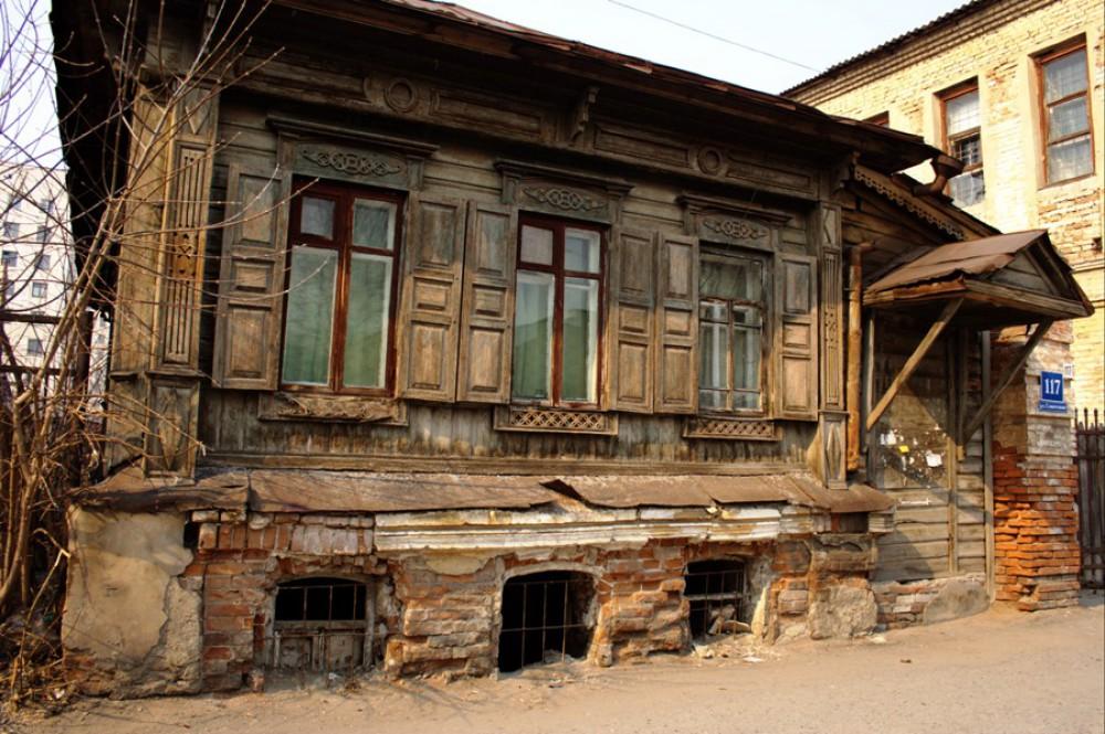 Древние дома фото